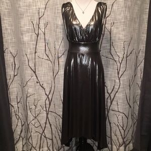 AGB wet silver dress size 14
